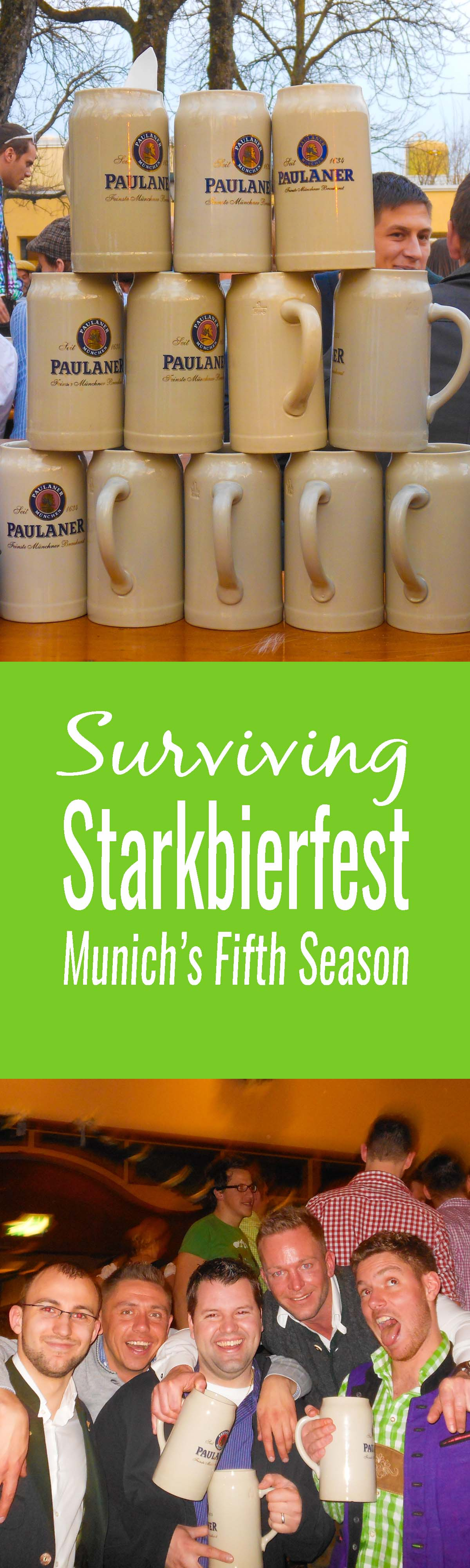 Starkbierfest in Munich. Why fight the crowds of Octoberfest when Munich has a lesser known, more authentic festival in the Spring - Starkbierfest. Here's how to attend.