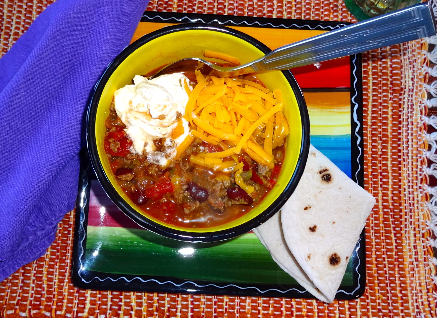 Beef and Stout Beer Chili - The Wandering Gourmand