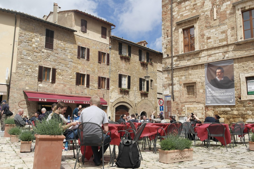The Main Square in Montepulciano