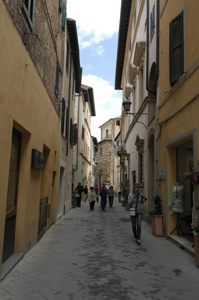 The alleys of Montepulciano