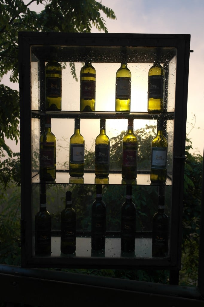 Bottles of Montepulciano