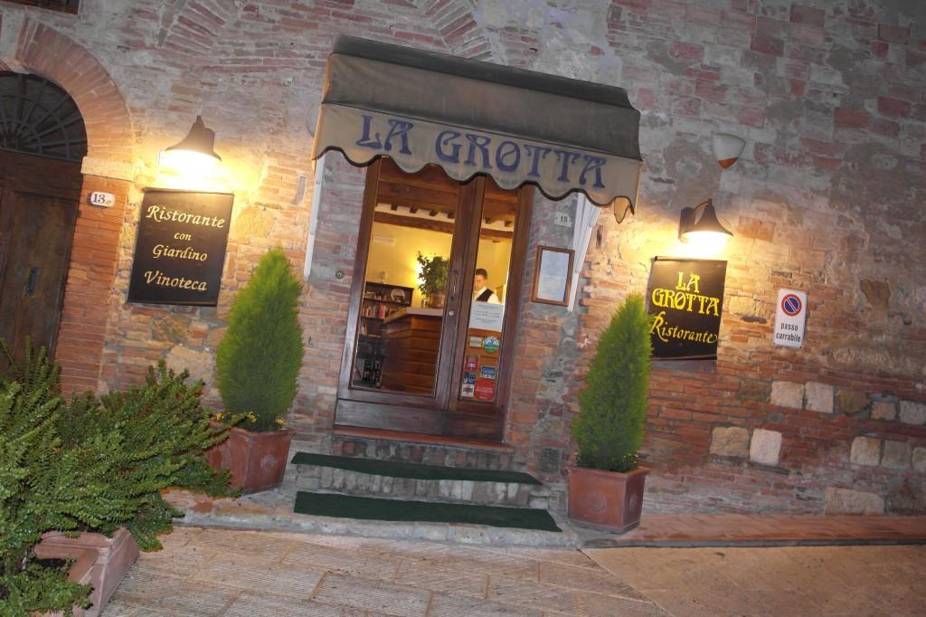 Dinner at La Grotta