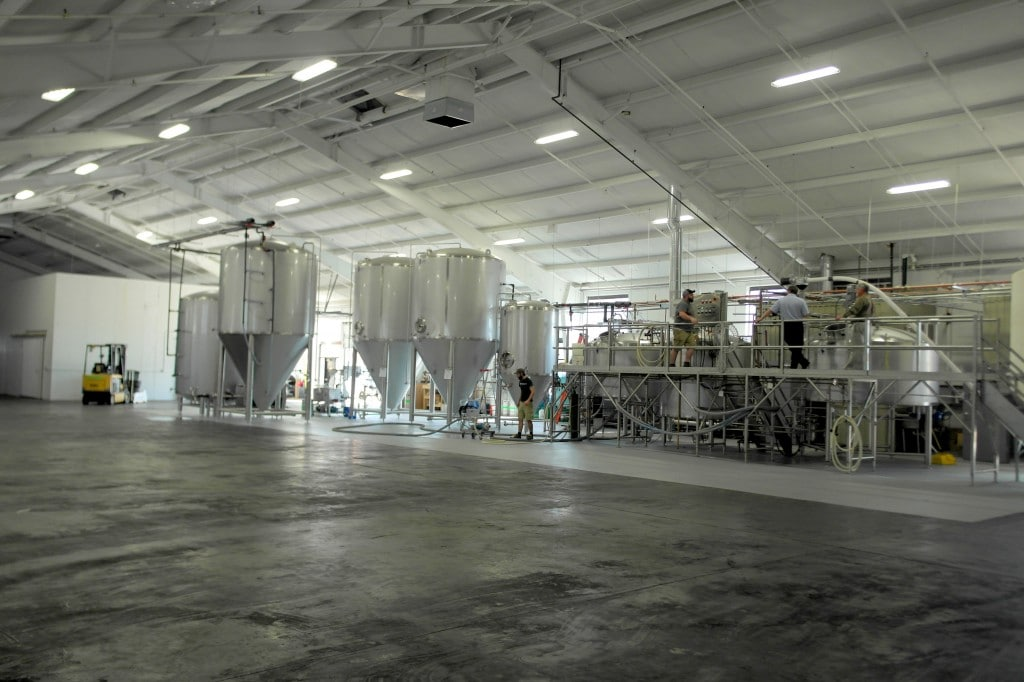 Plenty of Room for Expansion in Unknown's Brewhouse