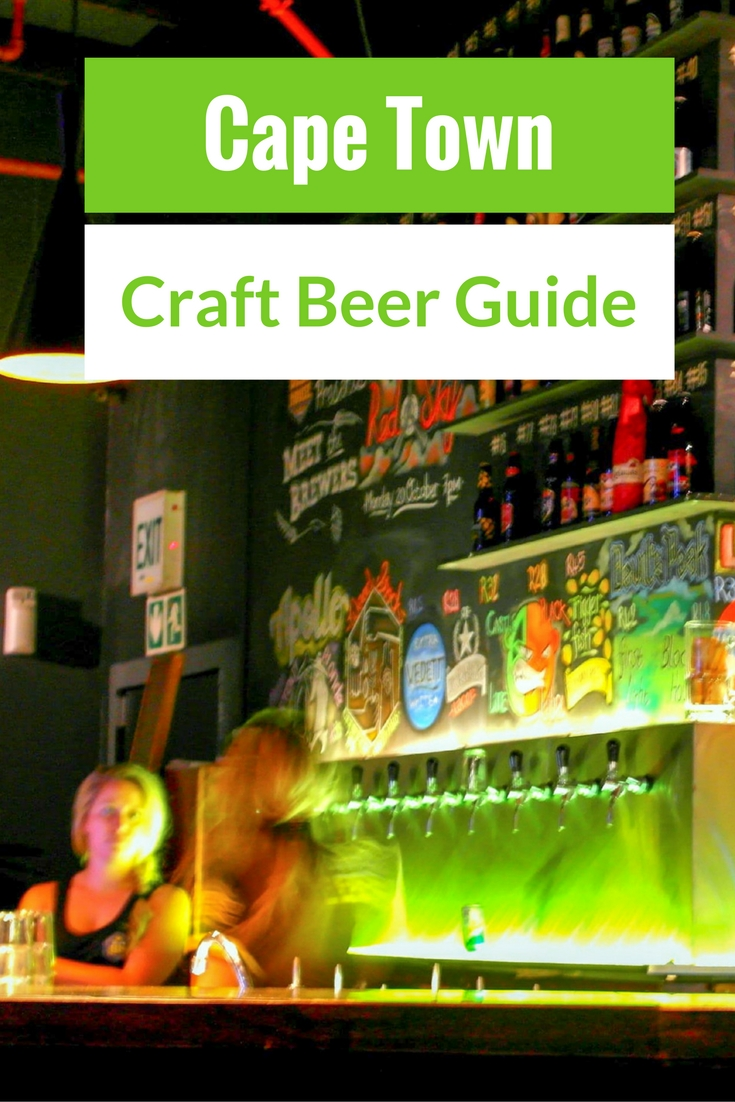 Cape Town is way more than just wine. They also produce great beer. Here's a guide to the best of the Cape Town craft beer scene.