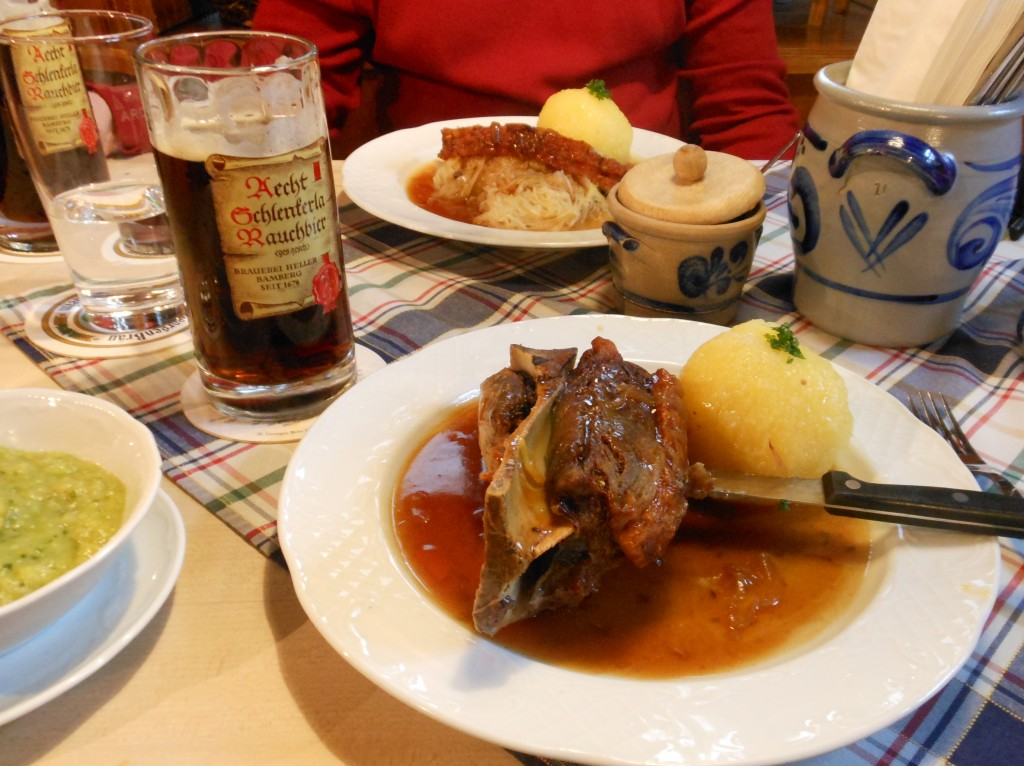 A Franconian Feast at Kachelofen in Bamberg, Germany