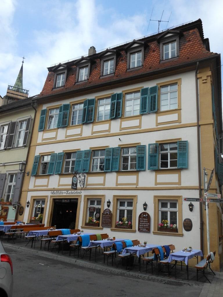 Kachelofen in Bamberg, Germany