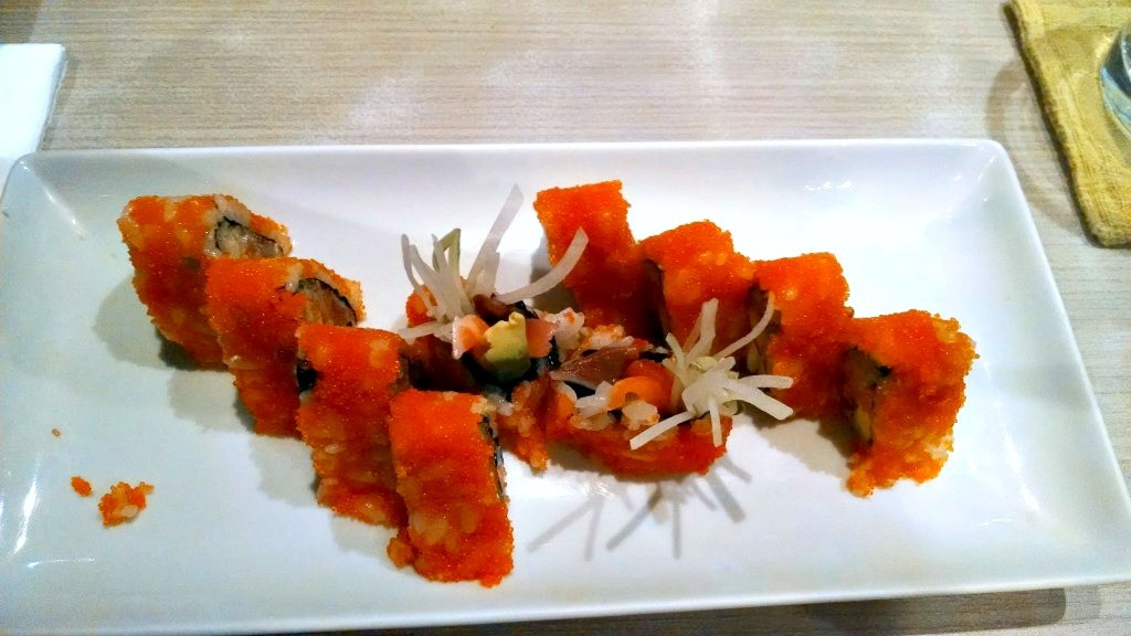 Chicago Crazy Spicy Sushi at Isao in Bangkok, Thailand – Where's the Gos