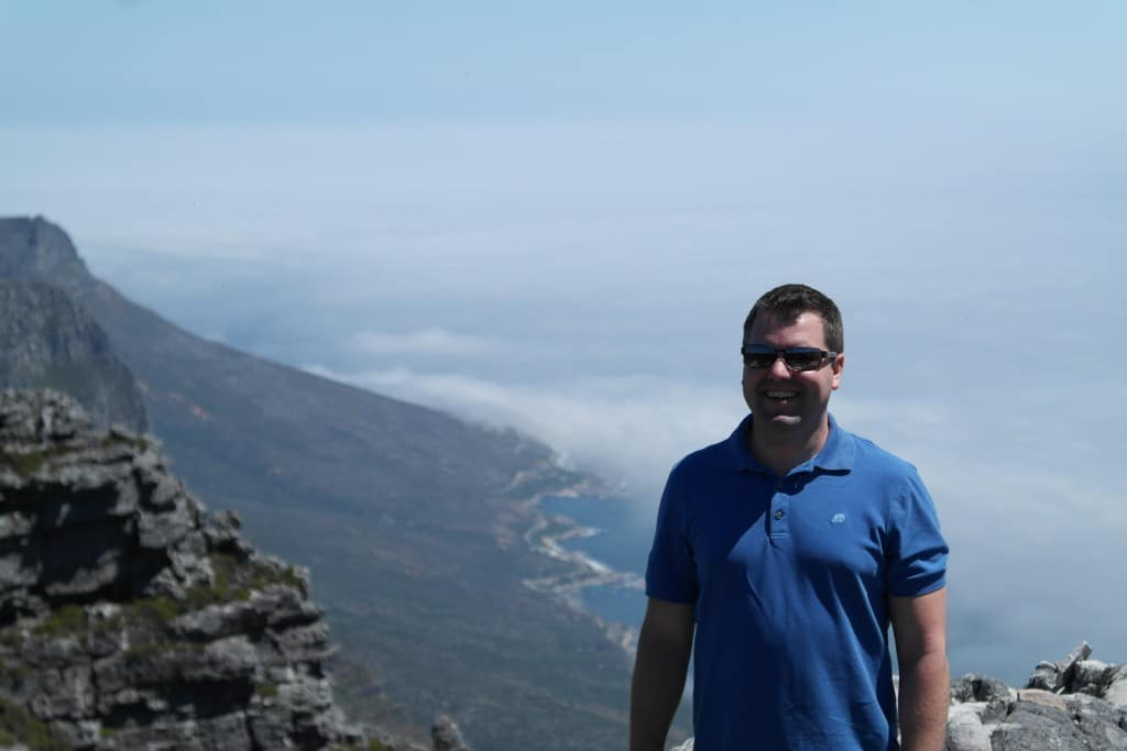 Visiting Table Mountain