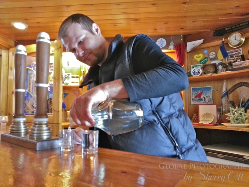 The Bar at Vernadsky Research Base, Antarctica - Photo Courtesy of Ott's World
