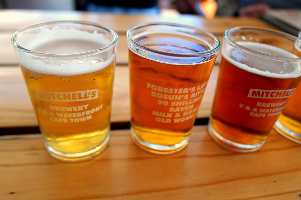 Mitchell's Brewery in Cape Town, South Africa