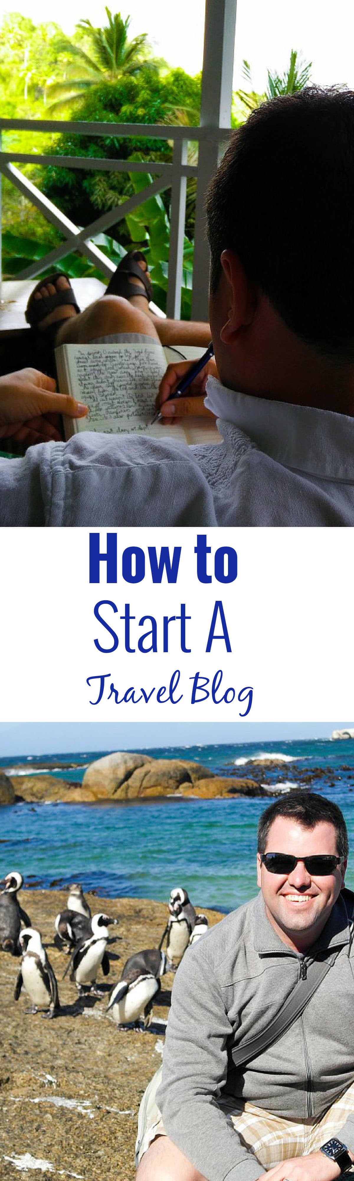 How to Start a Travel Blog pin copy