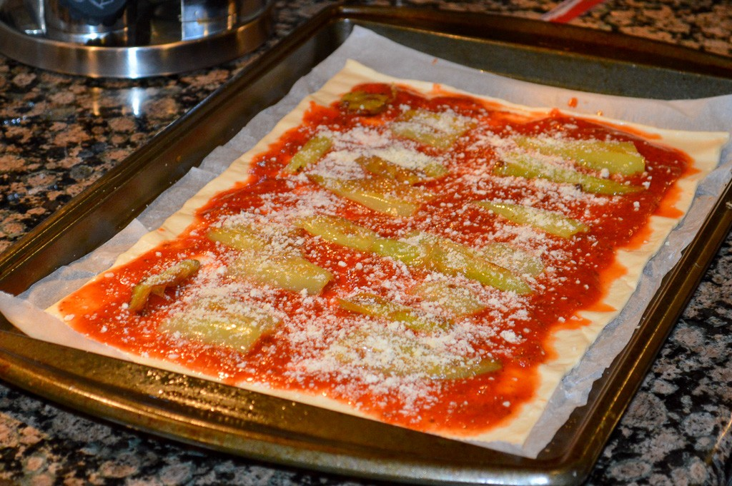 Briar Hill Style Pizza Ready for the Oven