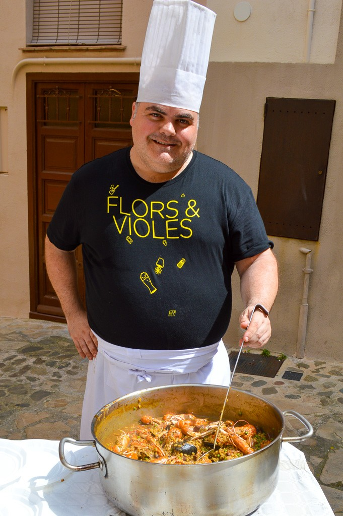 Flors Violes - The chef at L'ARCA, host of the festival's celebration dinner