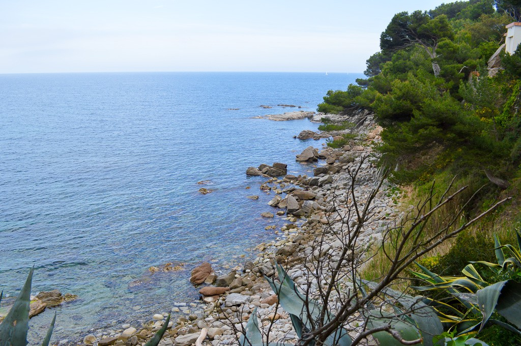 Coves and Coastal Paths in Palafrugell, Spain