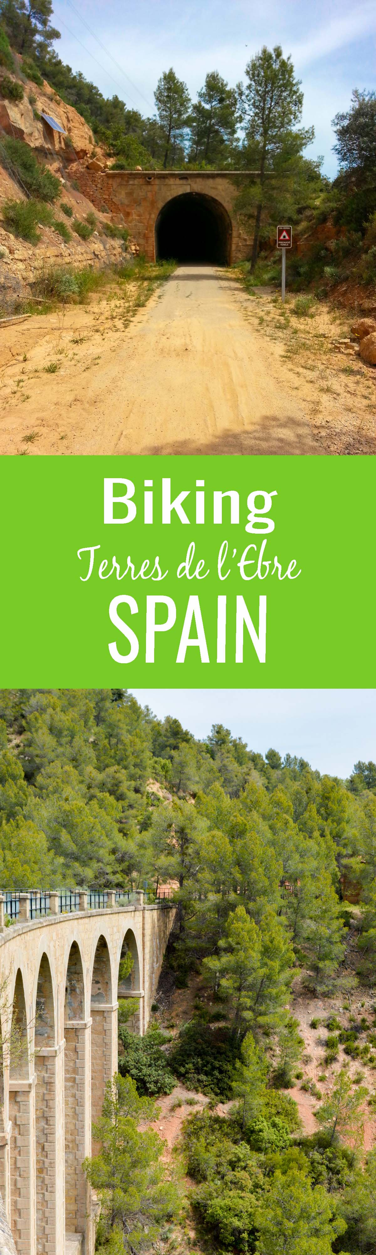 Biking Terres de l'Ebre Greenway – The best way to explore the food, culture, and natural attractions of this lesser traveled Spanish region is via bicycle. A unique way to travel Spain!