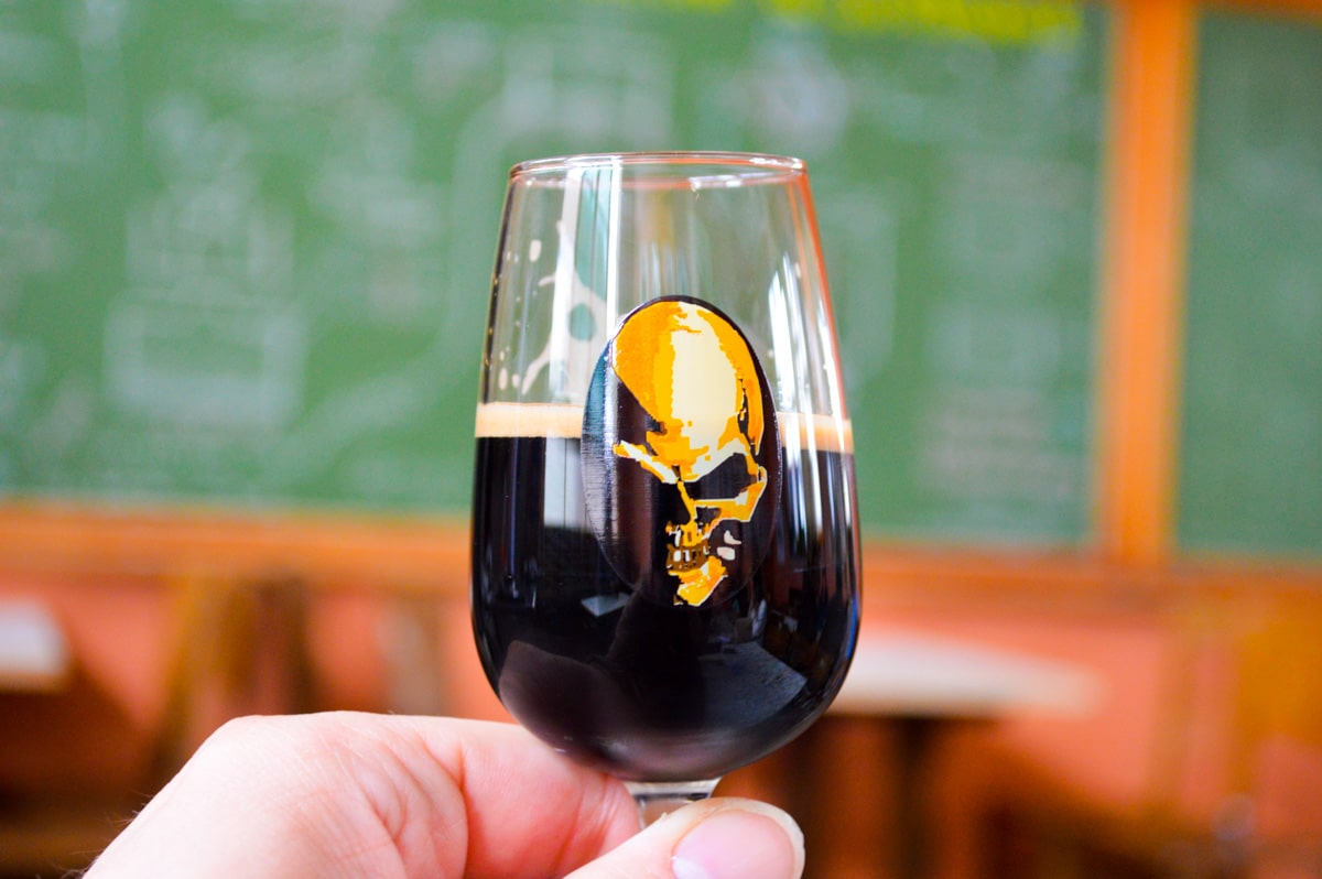 De Struise Brouwers in Oostvleteren, Belgium is a must visit brewery for anyone making a beer pilgrimage to Belgium. Be sure to try the Black Damnation. Talk about WOW!