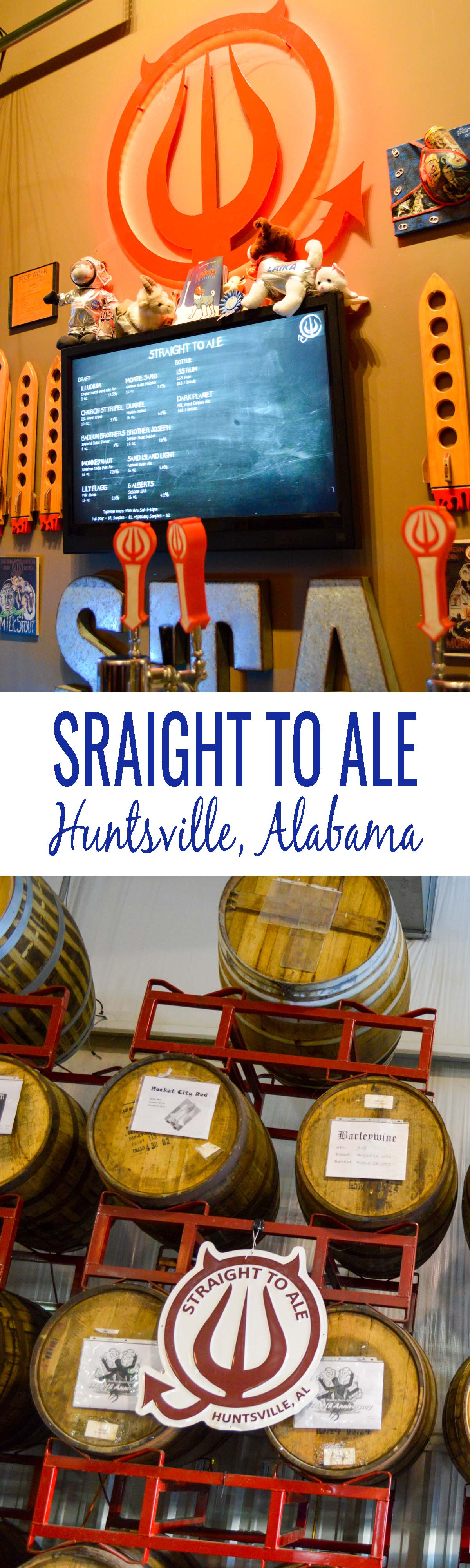 Taproom Talk: Straight to Ale in Huntsville, Alabama. Explore Huntsville's food and craft beer travel scene through the eyes Operations Manager, Matthew Broadhurst. Huntsville is one tasty (and sudsy) town!