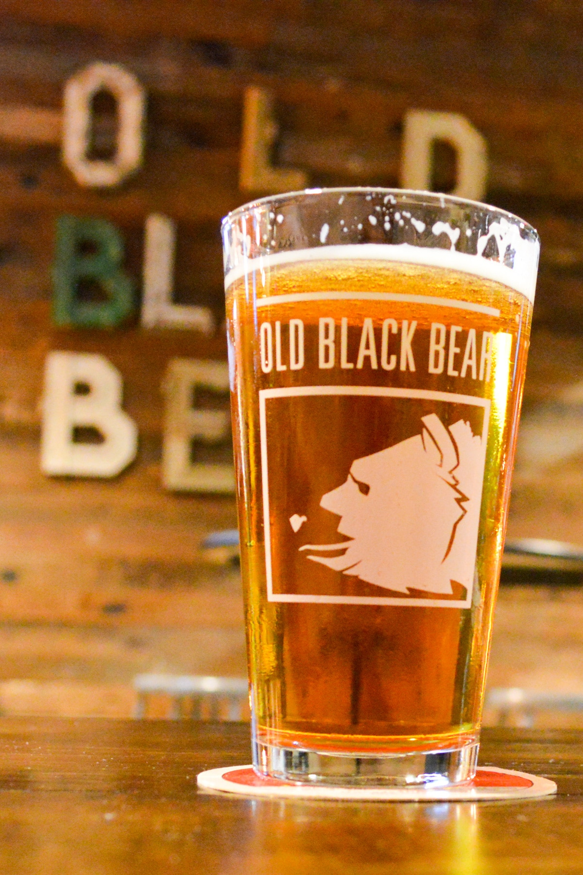 Brewery Snapshot: Old Black Bear Brewing in Madison, AL. Old Black Bear Brewing is a must visit brewpub in Huntsville. Great farm-to-table food with brewery fresh craft beer!