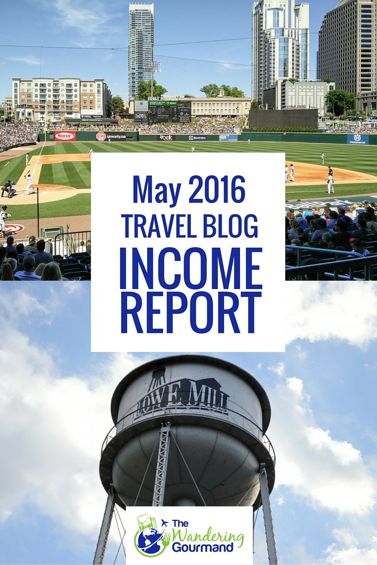 Each month I publish a travel blog income report to inspire others to plan their own exit strategy from the cubicle hamster race. Here's May's edition.