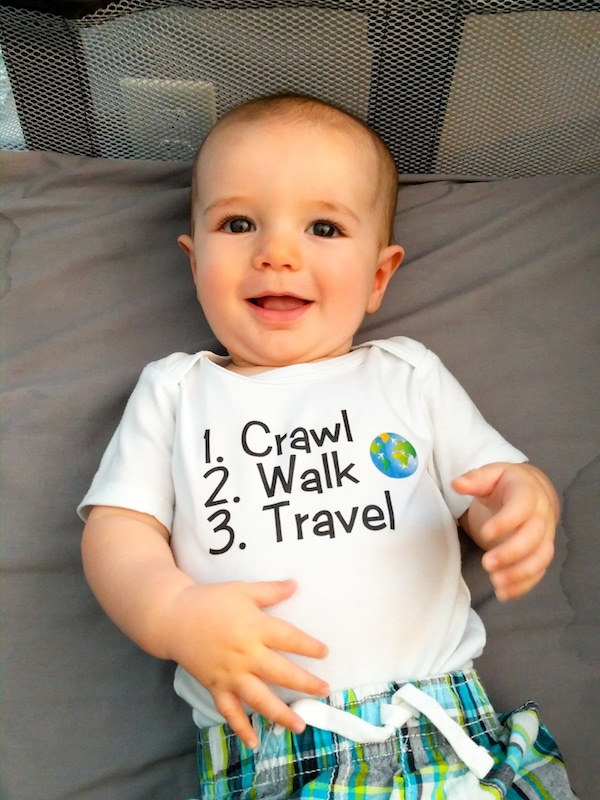 21 Essential Tips for Successful Road Trip with a Baby. Covering everything from what to pack to when to schedule the journey