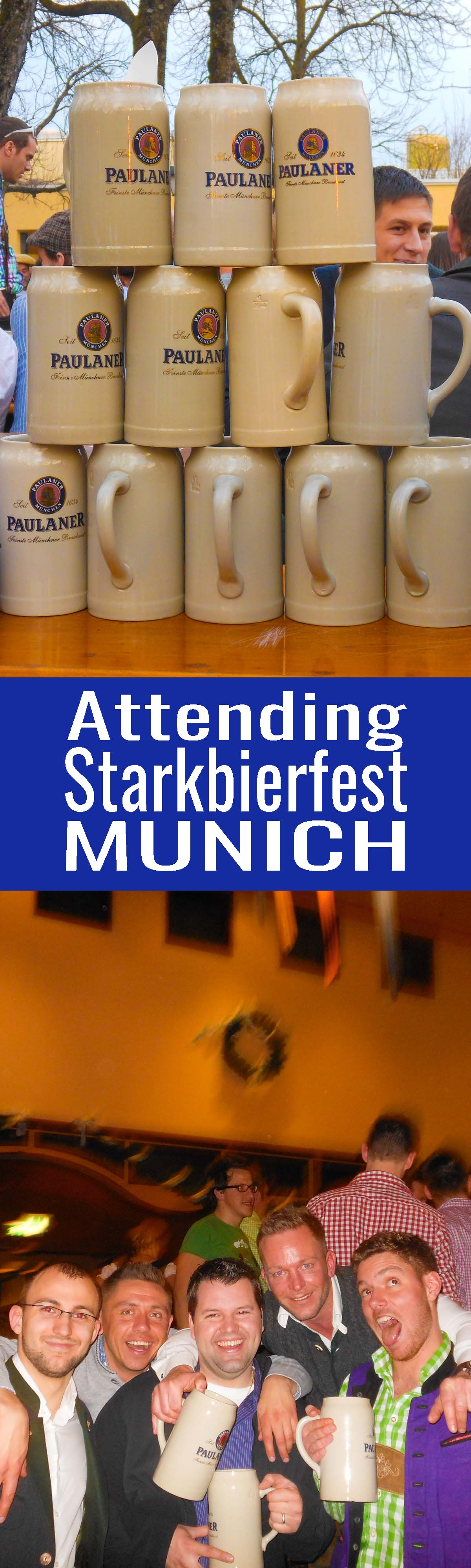 Why fight the crowds of Octoberfest? Plan on attending Starkbierfest instead. It's Munich's lesser known beer festival. It's an authentic good time!