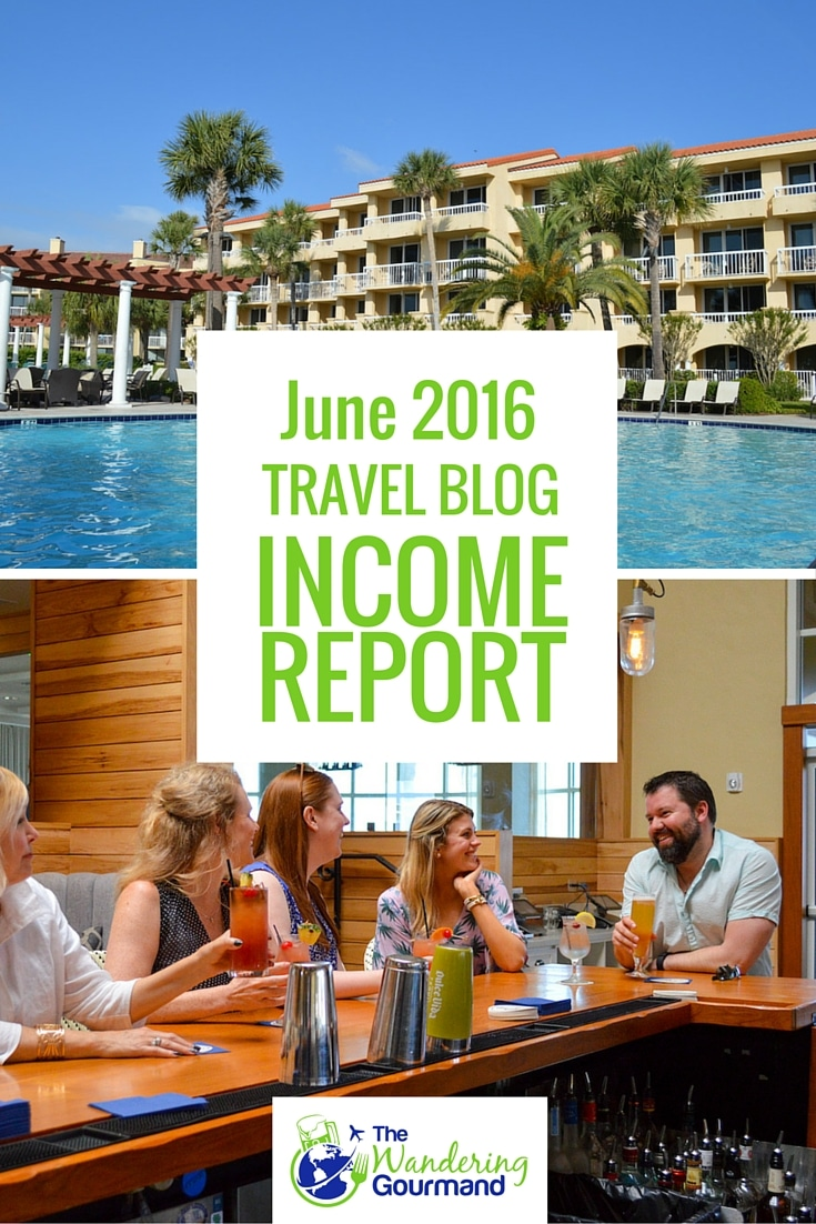 Each month I publish a travel blog income report to inspire others to plan their own exit strategy from the cubicle hamster race. Here's June's edition.