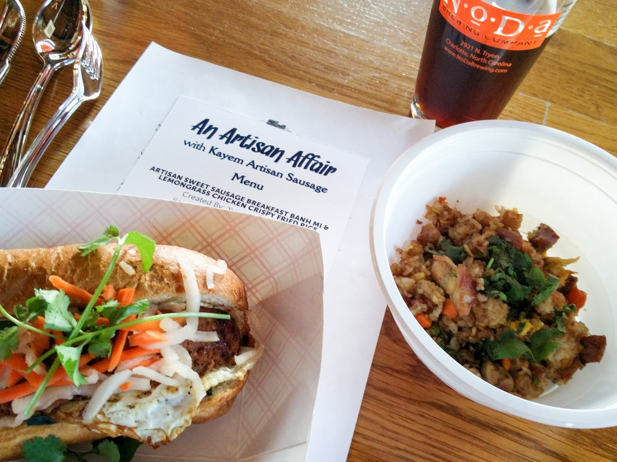 My first food judging experience! The Kayem Artisan Sausage #ArtisanAffair Food Truck Competition on NoDa Brewing in Charlotte, NC. Who do you think won?