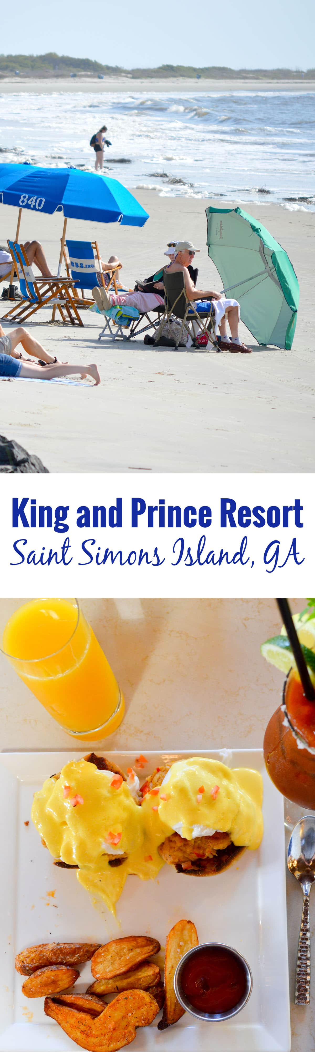 King and Prince Resort on Saint Simons Island. The resort stays true to its southern island roots and combines the best of a beach resort with the traditions and hospitality of southern living.