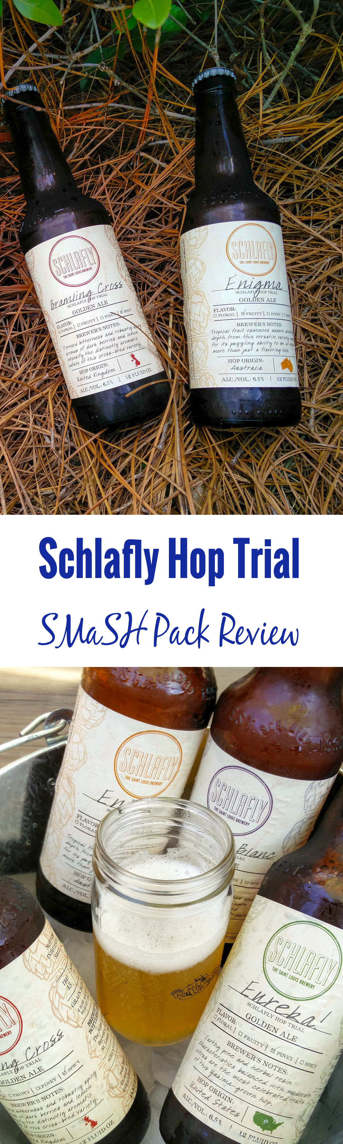 Schlafly Beer recently released a single malt and single hop experimental 12-pack. It's all kinds of delicious. Buy your Schlafly Hop Trial SMaSH Pack today!