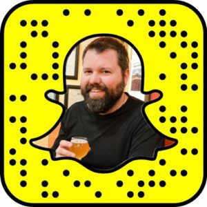 Follow my food, beer, and travel blog adventures on SnapChat!