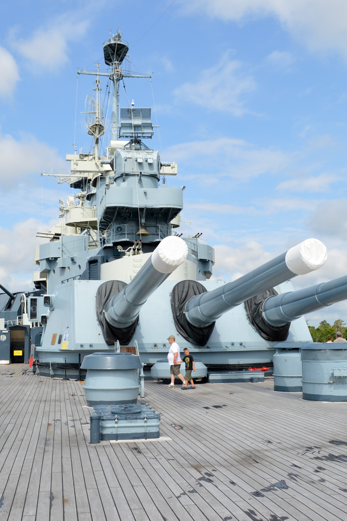 Make a daytrip to Wilmington, NC to visit the USS North Carolina Battleship and the Wilmington area breweries. It's the perfect afternoon!