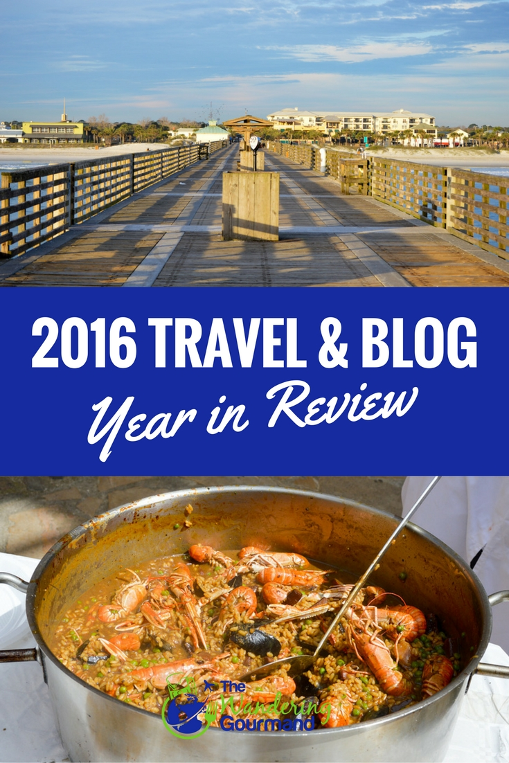 Where all did the Wandering Gourmand craft beer travel blog travel to in 2016? Find out in our 2016 year in review!