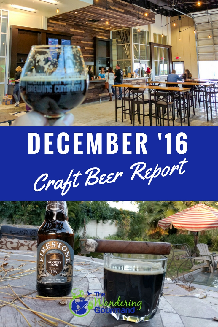 As a beer writer, each month I try a lot of craft beer. Here are my favorites from December summarized in my December Craft Beer Report.