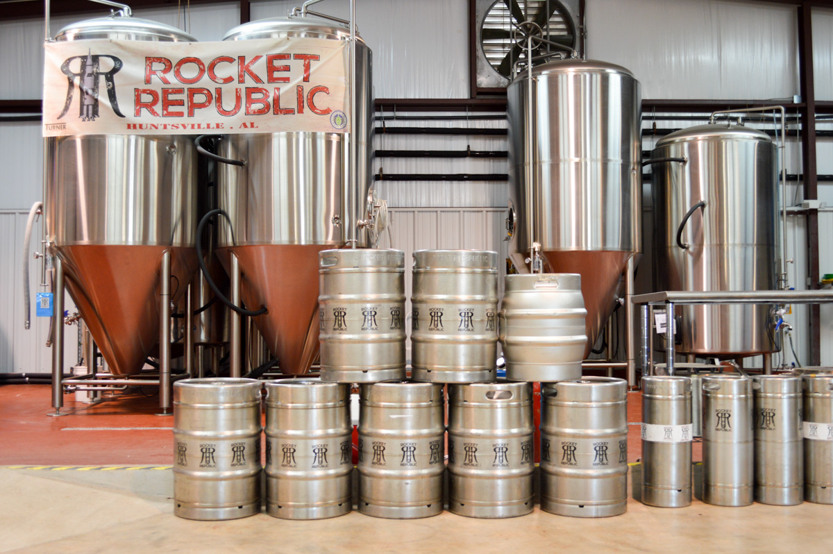 Brewery Spotlight: Rocket Republic Brewing in Huntsville, Alabama – Rocket Republic Brewing combines the geek and the fun in some awesome brews. Definitely a brewery worth visiting!