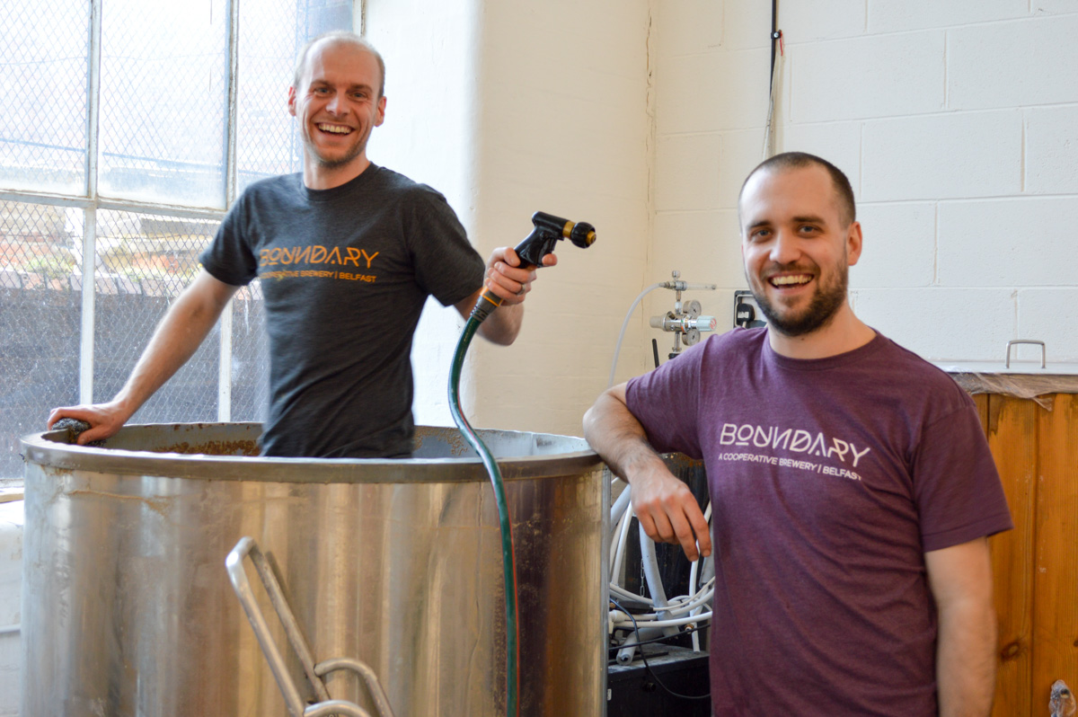Brewery Snapshot Boundary Brewing in Belfast, Northern Ireland – Boundary Brewing in Belfast is revolutionizing Belfast's craft beer scene with both their hop forward and sour beers. It's a welcome change from yet another Guinness.