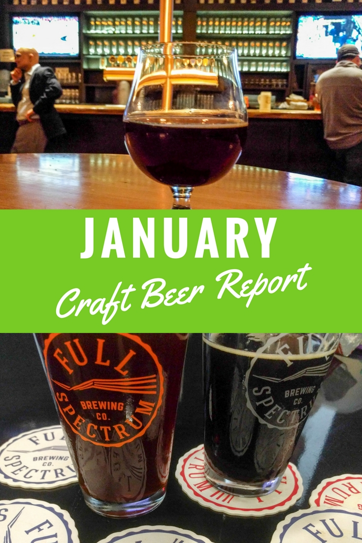 As a beer writer, each month I try a lot of craft beer. Here are my favorites from December summarized in my January Craft Beer Report.