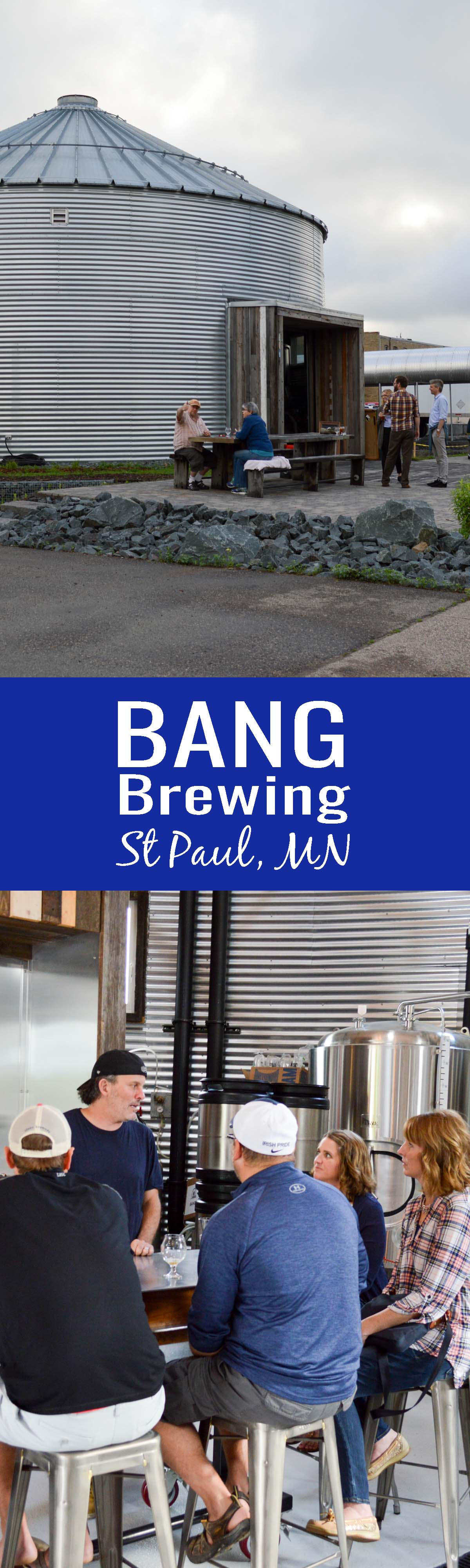 Taproom Talk: Bang Brewing, St Paul, Minnesota. Travel through St Paul's food and craft beer scene with Bang Brewing owner Sandy Boss-Febbo. Sandy offers a unique organic and sustainable twist to our typical craft beer and food guide!