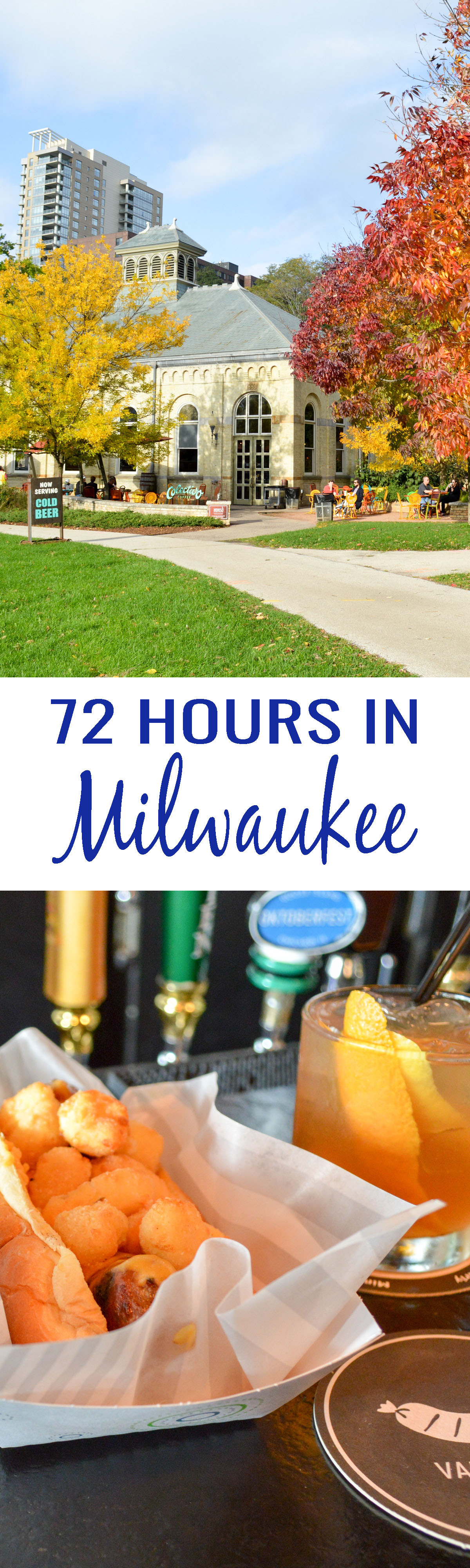 72 Hours in Milwaukee: A list of the best things to see, do, and taste. Milwaukee represents as the original Beer City, USA!