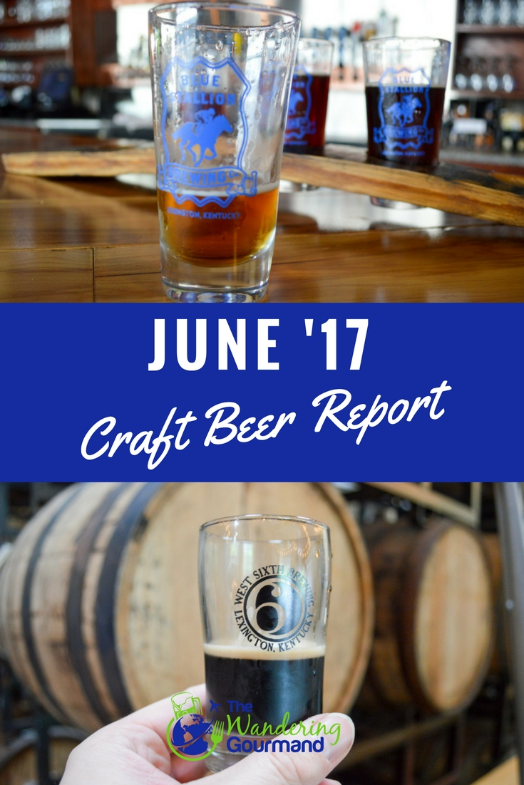 As a beer writer, each month I sample a lot of craft beer. Here are my favorites from June summarized in my June Craft Beer Report.