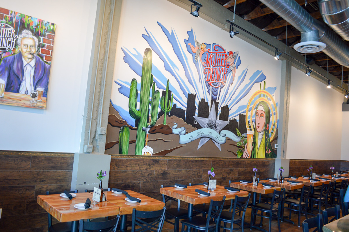 Mother Bunch Brewing, Phoenix – Handcrafted beer, house smoked meat, and an inviting vibe, Mother Bunch Brewing in Phoenix, Arizona is a must visit brewpub.