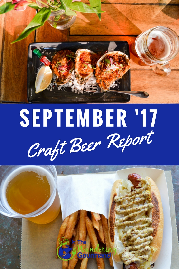 As a beer writer, each month I sample a lot of craft beer. Here are my favorites from June summarized in my September Craft Beer Report.